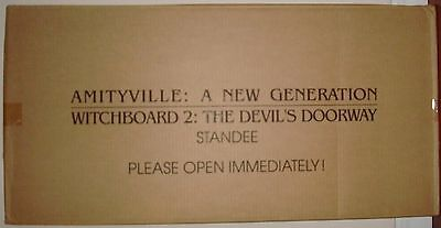 Amityville A New Generation & Witchboard 2 Promotional Standee  Htf
