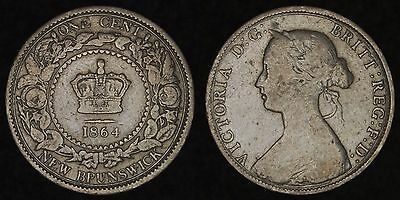 NEW BRUNSWICK - 1864 Cent - Victoria