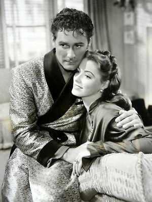 ERROL FLYNN & ELEANOR PARKER Movie Film 8 x 10 PHOTO Never Say GOODBYE ak368
