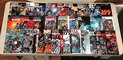 Lot Of 23 Kiss Psycho Circus #1-31 Complete Set (-8) ~Image Todd Mcfarlane