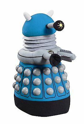 "Underground Toys Doctor Who Deluxe Dalek Plush, Blue, 15"" - NEW!"
