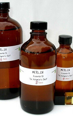 Merlin Essential Oil 8 oz Wiccan Craft  Pagan Altar Ritual Spell Special
