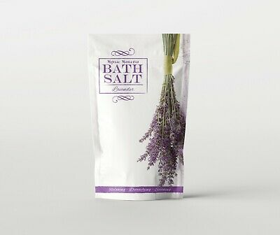 Mystic Moments | Bath Salt - Lavender - 1Kg (SALT1KLAVE)