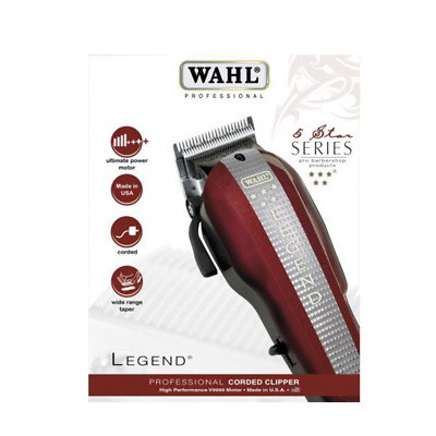 Wahl Professional 5 Star Legend Hair Clipper Professional Barber Corded