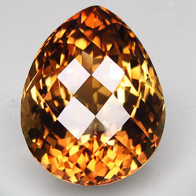 28.94ct.RAVISHING GEM! NATURAL TOP IMPERIAL TOPAZ UNHEATED (BRAZIL) AAA TITANIC