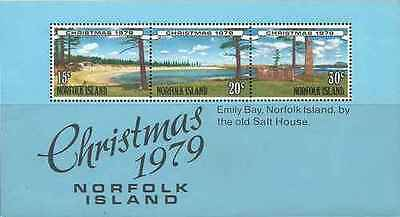 Timbres Religion Noel Norfolk BF3 ** lot 21004