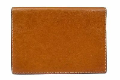 Vintage Etui Hermes Couverture Agenda Pm Cuir Marron Leather Diary Cover 350€