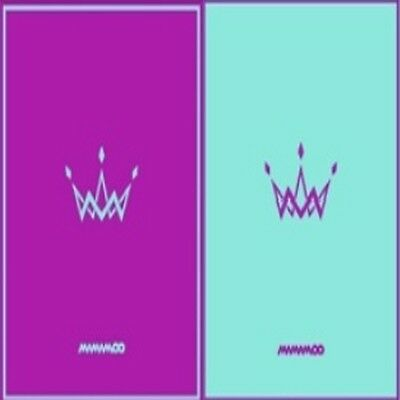 Mamamoo-[Purple] 5th Mini Album 2 Ver SET A+B CD+Poster+Photobook+PhotoCard KPOP