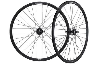 Pair wheel fixed track x press clincher black MICHE Bicycle