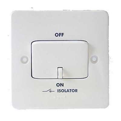 Legrand 730009 Synergy 10A 3 Pole Fan Isolator Switch 1 or Pack 10