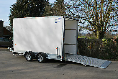 Ifor Williams 12ft BV126 Box Van Trailer - Fully Serviced, Including Warranty
