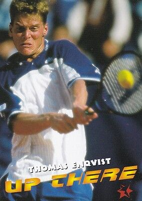 1997 Intrepid Tennis Trading Card #7 Thomas Enqvist Sweden