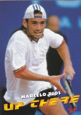 1997 Intrepid Tennis Trading Card #9 Marcelo Rios Chile