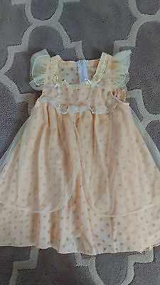Baby girl party dress size 2