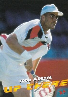 1997 Intrepid Tennis Trading Card #10 Todd Martin USA