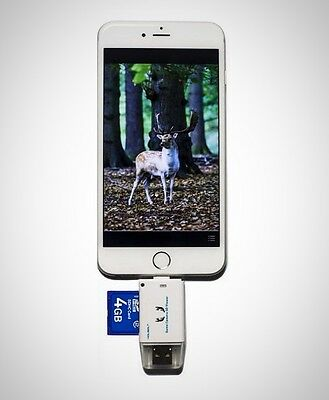Trail Game Camera SD Card Viewer IOS IPhone System Micro USB2.0 OTG Port Viewer