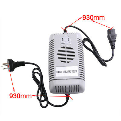 48V Volt 2.5A Battery Charger for Electric Car E-bike Scooter Pit Dirt Buggy ATV