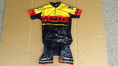 Plant x Flanders Cycling Bib Shorts and Jersey Size Large