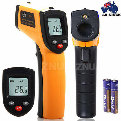 LCD Portable IR Laser Thermometer Temperature Measuring Gun Temp Surface