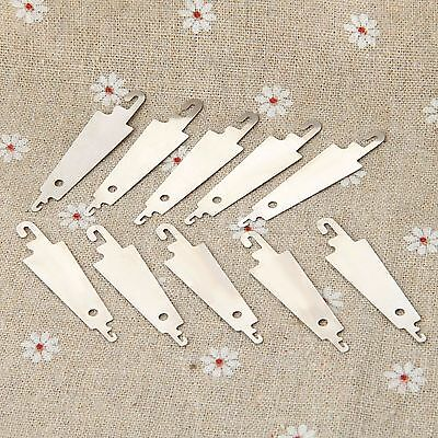 10pcs NEEDLE THREADING TOOLS For Sewing Cross Stitch Embroidery Stainless Steel