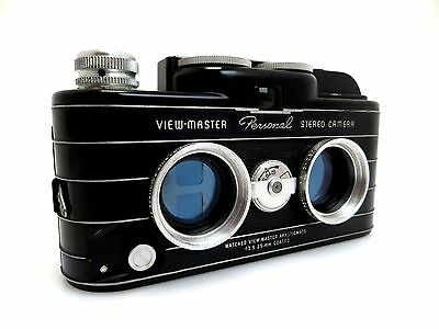 View-Master Personal Stereo Camera #25443,  Matched Anastigmats 3,5/25 mm wr026