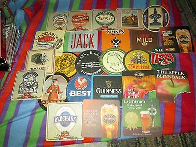 BEER Coaster lot of 25 many different labels