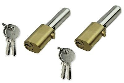 Replacement Roller Shutter Security Bullet Lock Oval Style Pin Locks