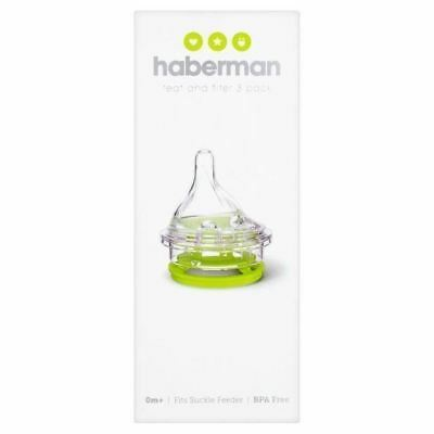 Haberman Teat and Filter 3 Pack 0+m 1 2 3 6 12 Packs