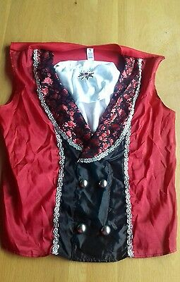 Male vampire Size Large Halloween Costume