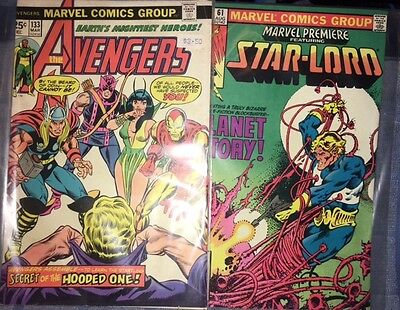 Guardians of the Galaxy Marvel Premiere # 61 Star-Lord Avengers Mantis Comic Lot • $6.00