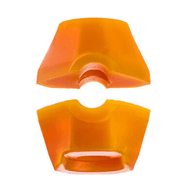 1 x Bushing Set / Lenkgummi-Set für SEISMIC AEON Longboard Trucks Orange 86A
