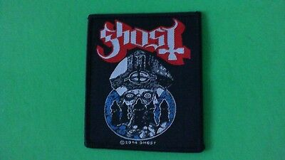 Ghost BC Band Iron On Patch! New Papa Emeritus & The Nameless Ghouls Metallica