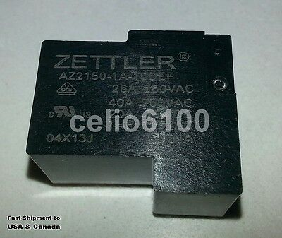 American Zettler AZ2150-1A-15DEF 15VDC 40A Power Relay (buy more, save shipping)