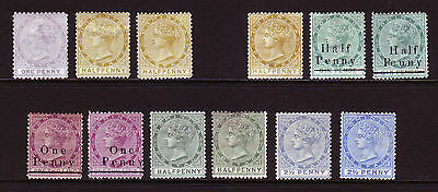 Dominica. Qv Mounted Mint Selection.