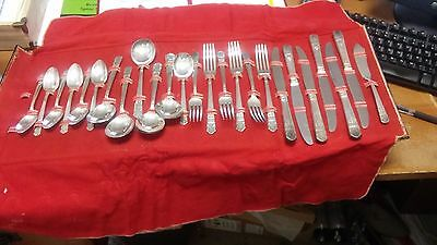 William A Rogers Harmony Silverware Set - Service for 6