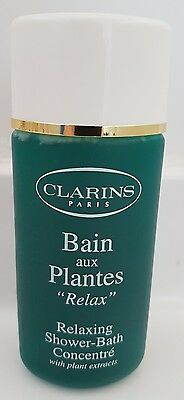 CLARINS Relaxing Bath Shower Concentrate with plant extracts 125ml NEW