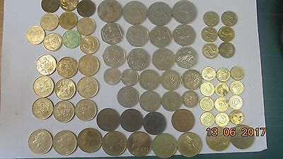 Cyprus coins as listed