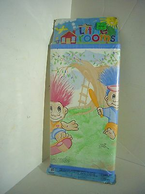 Vintage Troll Norwall Little Rooms Border Wall Paper Wallpaper 5 Yards