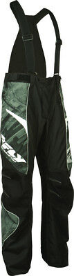 Fly Racing Mens SNX Pro Lite Waterproof Snow Pants With Removable Suspenders