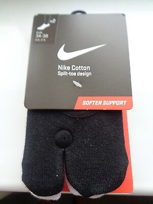 Nike rift no show sport socks unisex 2 pairs uk 2-5 eu 34-38 us 4-6 NEW IN PACK