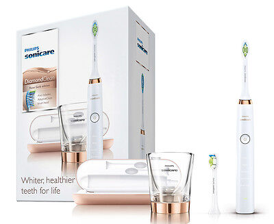 Philips Sonicare DiamondClean Sonic Electric Toothbrush - Rose Gold