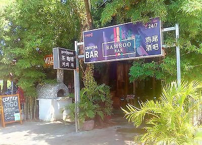 Cocktail bar and restaurant for sale in Southeast Asia.
