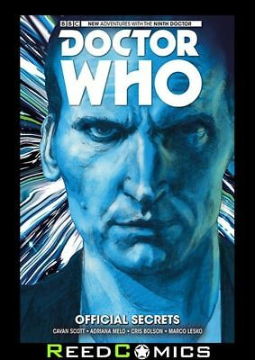 DOCTOR WHO 9th DOCTOR VOLUME 3 OFFICIAL SECRETS HARDCOVER New Hardback