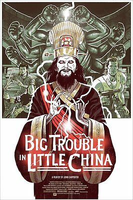 Big Trouble in Little China by Sam Bosma (Mondo Print)