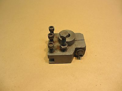Tool post for a Myford lathe