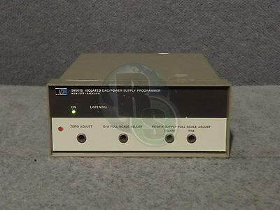 Hewlett Packard HP 59501B Isolated DAC Power Supply Programmer