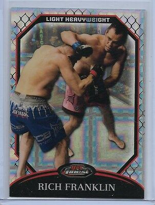 RICH FRANKLIN  2011 Topps Finest UFC #34  XFRACTOR (171/388) Gem Mint CINCINNATI