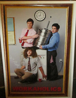 Workaholics Poster  Spectacular New  Rare Oops Comedy Central Keg