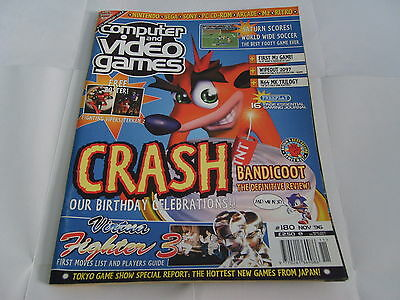 Cvg Computer And Video Games - Games Magazine Issue 180