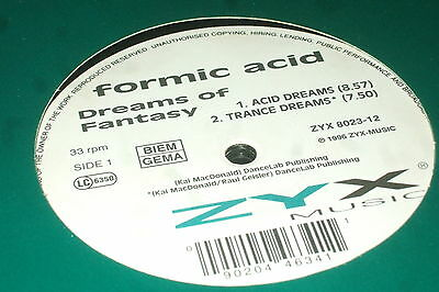 Formic Acid ‎– Dreams Of Fantasy         1996   GERMAN TRANCE